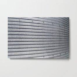 Grain Bin 1 Metal Print