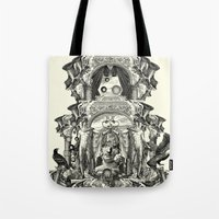 rome Tote Bags featuring Rome by DIVIDUS