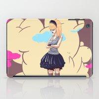 comic iPad Cases featuring Comic by monoguru