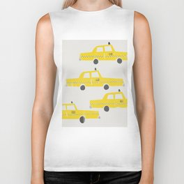 New York Taxicab Biker Tank