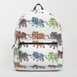 Elephant Walk Pattern Backpack