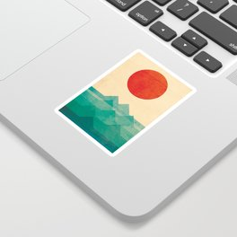The ocean, the sea, the wave Sticker