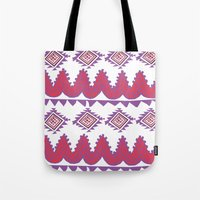 mexico Tote Bags featuring Mexico by Hannah Martin