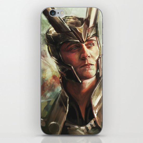 The Prince of Asgard iPhone & iPod Skin