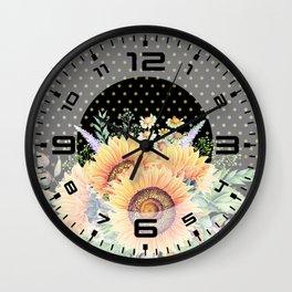 Flower bouquet #35 Wall Clock