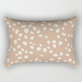 PEACH PEBBLES Rectangular Pillow
