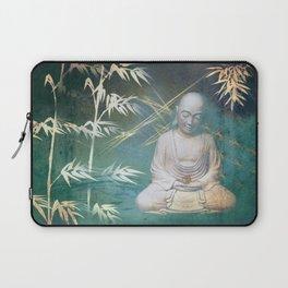 Buddha's awakening from deep meditation Laptop Sleeve