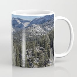 The North View Towards Tenaya Lake from Olmsted Point Coffee Mug