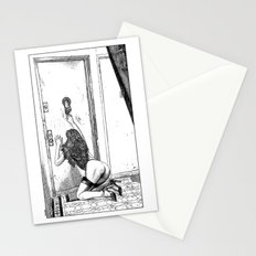 asc 700 - L'audience reportée (The missed handshake) Stationery Cards