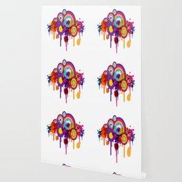 Color Paint Blobs Wallpaper
