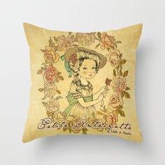 Petite Antoinette Throw Pillow
