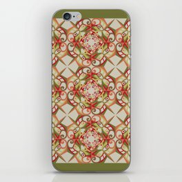 Thanksgiving Tiled - Fall Colors iPhone Skin