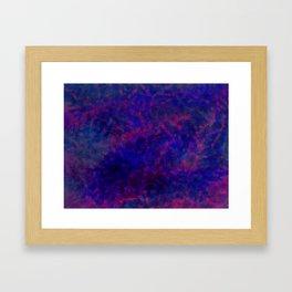 Bi (pattern) Framed Art Print