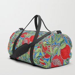 Pomegranate Branches and Fruit Duffle Bag