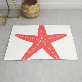 Starfish (Salmon & White) Rug