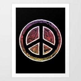 'Pieced Together' Art Print