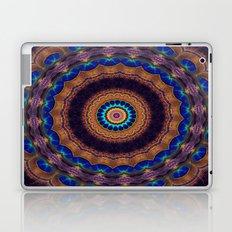 Peacock Pinwheel Laptop & iPad Skin