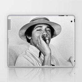 President Obama Smoking Laptop & iPad Skin