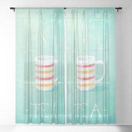 Tea Sheer Curtain