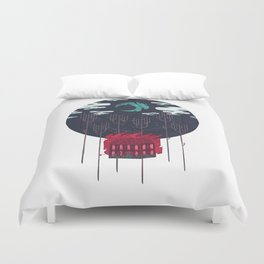 The Most Beautiful Night of All Duvet Cover