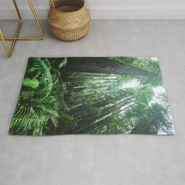 Redwood National Park- Pacific Northwest Nature Photography Rug