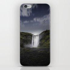 Skógafoss Waterfall Iceland iPhone & iPod Skin