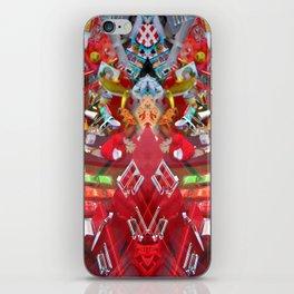 shop red Rorschach symmetry caleidoscope iPhone Skin