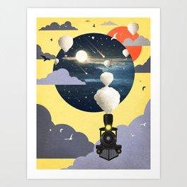 Journey ver.2 Art Print
