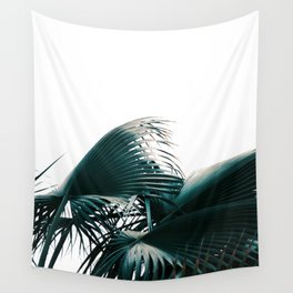 Blue Leaf Wall Tapestry