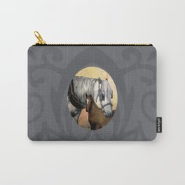 Plow Horse and Foal Carry-All Pouch