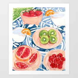 Summer Picnic Art Print