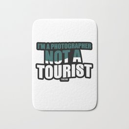 Photography camera recording Gift Bath Mat