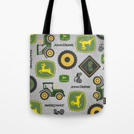 Farm Tractor - Green Tote Bag