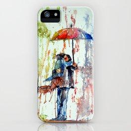 Romance meeting iPhone Case