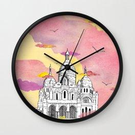 Sacré Coeur - Paris Wall Clock
