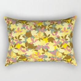 Autumn Leafage decorative pattern Rectangular Pillow