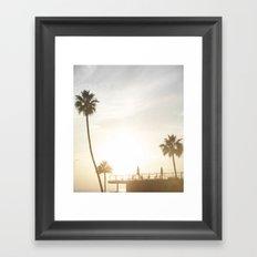Retro Glam Framed Art Print