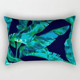 Tropical addiction - midnight grunge Rectangular Pillow