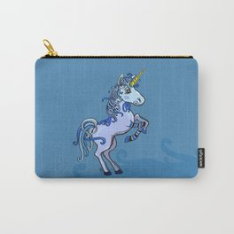 Happy Unicorn Power Carry-All Pouch