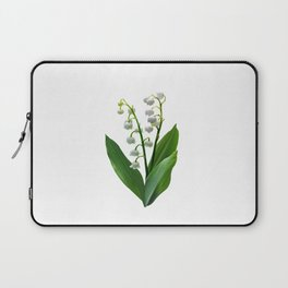 Lily of the Valley Floweret Laptop Sleeve