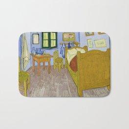 """Vincent Van Gogh """"Bedroom in Arles"""" Bath Mat"""