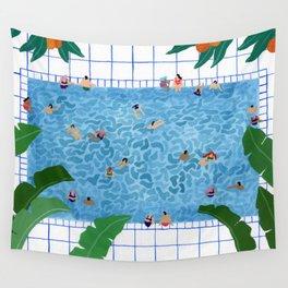 Oranjepool Wall Tapestry