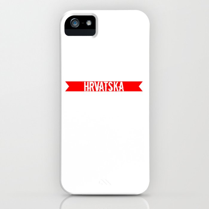 HRVATSKA iPhone Case
