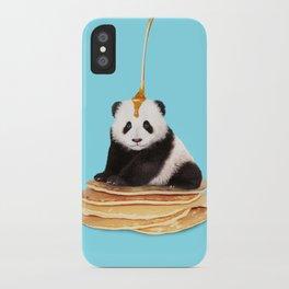 PANCAKE PANDA iPhone Case