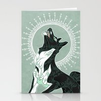 saga Stationery Cards featuring Saga of Lord Emil by CanisAlbus