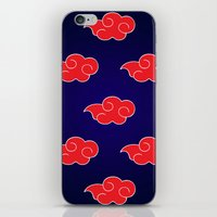 suit iPhone & iPod Skins featuring Akatsuki Suit by bimorecreative