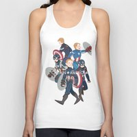 suits Tank Tops featuring The suits by Sodam-art