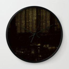 City block Wall Clock