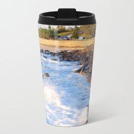 Duranbah Beach Metal Travel Mug