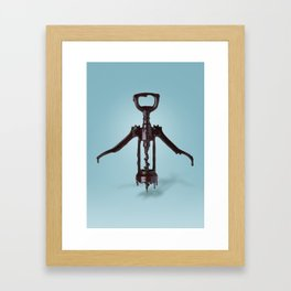Corkscrew and Chocolate Framed Art Print